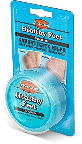 Rissige Nagelhaut (O'Keeffe's Healthy Feet Fußcreme, 91 g)