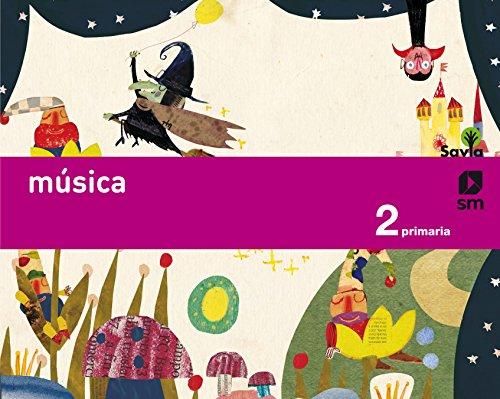 Música. 2 Primaria. Savia - 9788467575187