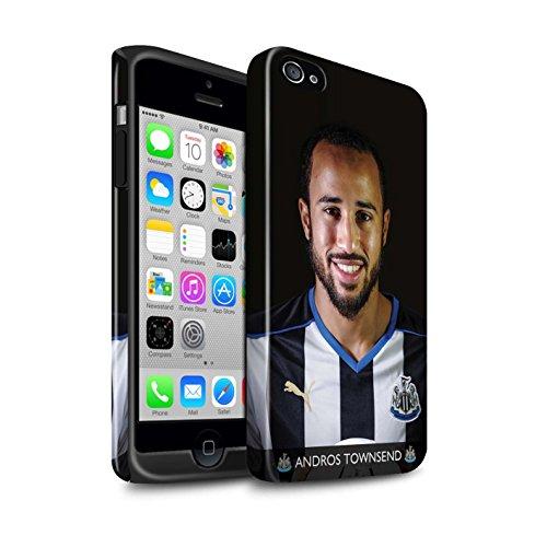 Offiziell Newcastle United FC Hülle / Glanz Harten Stoßfest Case für Apple iPhone 4/4S / Pack 25pcs Muster / NUFC Fussballspieler 15/16 Kollektion Townsend