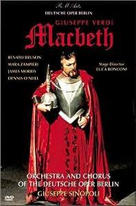 Verdi - Macbeth / Sinopoli, Bruson, Zampieri, Deutsche Oper Berlin [Import USA Zone 1]