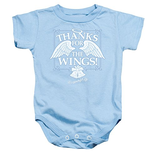 It's A Wonderful Life Christmas Thanks for The Wings Baby Infant Snapsuit