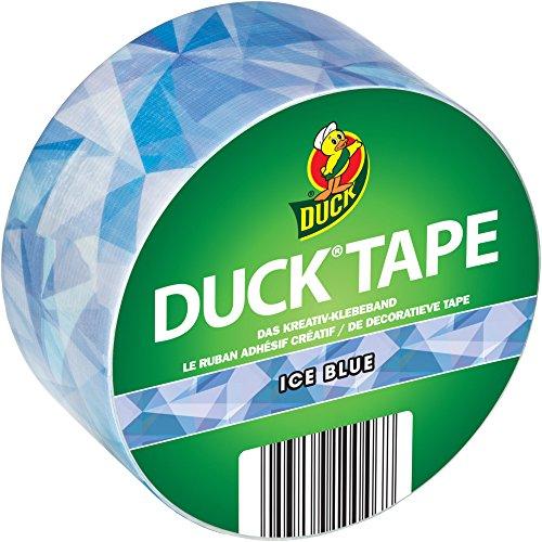 Duck Tape Ice Blue Gewebeband, 48 mm x 9,1 m zum Dekorieren, Basteln und Verschönern