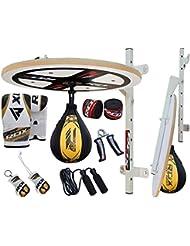 RDX 12pc Boxeo Plataforma Pera Velocidad Bola Peras Speed Bag