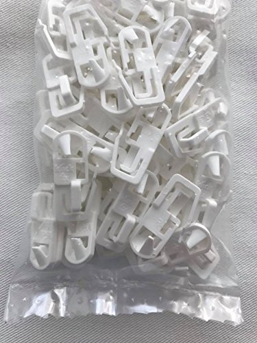 Klickfix Gardinengleiter- das Original - 20, 40, 60, 80, 100, 2000 Stück (100 Stück)