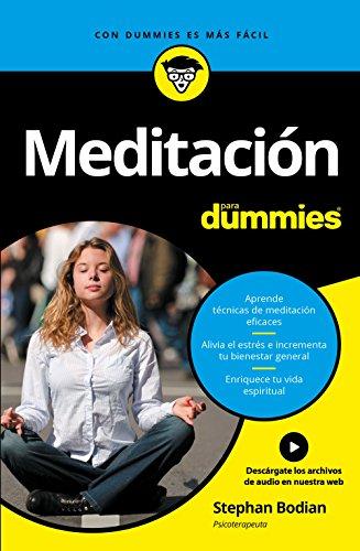 Meditación para Dummies por Stephan Bodian