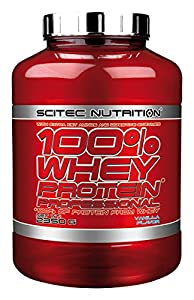 Scitec Nutrition Vanilla 100% Whey Protein Professional 2350g from SCITEC