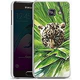 Samsung Galaxy A3 (2016) Housse Étui Protection Coque Bébé léopard Jungle Prédateur