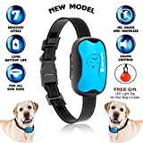 Hundebell-Halsband mit Schalter, Anti-Bell-Training, mit Vibration, kein Schock, für mittlere bis große Hunde, wasserdicht, 7 progressive / einstellbare Stufen