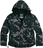 Surplus Zipper Windbreaker Jacke S Schwarz/Camouflage