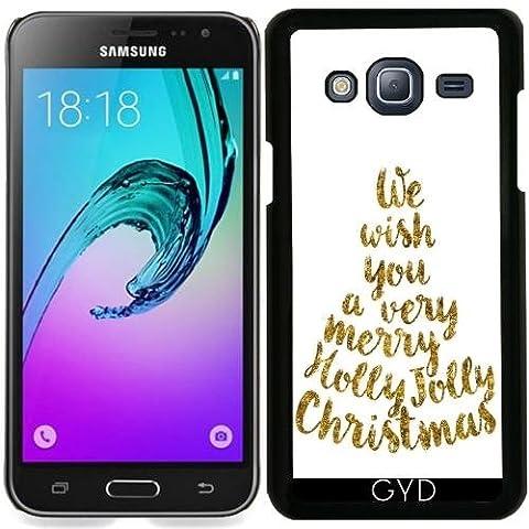 Hülle für Samsung Galaxy J3 2016 (SM-J320) - Holly Jolly