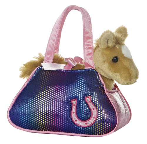 Aurora World Betsey Bling Horse Fancy Pals Pet Carrier by Aurora