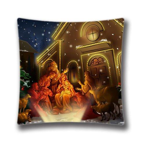 Weihnachten Kissen, Christmas Decor, Holiday Decor, Musik Holiday Kissenbezug, Christmas Kissen, Weihnachten Geschenk 45,7x 45,7cm