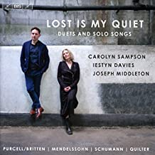Lost is my Quiet [Carolyn Sampson; Iestyn Davies; Joesph Middleton] [Bis: BIS2279]