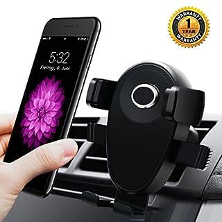 Layeri Handyhalterung Auto Handyhalter Fürs Auto Lüftung Kfz Handyhalterung Handy Halterung Halter Drehbar Universal Kompatibel für Andere Smartphones
