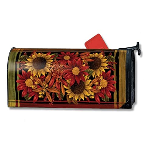 Magnet Works Rusts of Autumn Mailwraps Magnetic Mailbox Cover