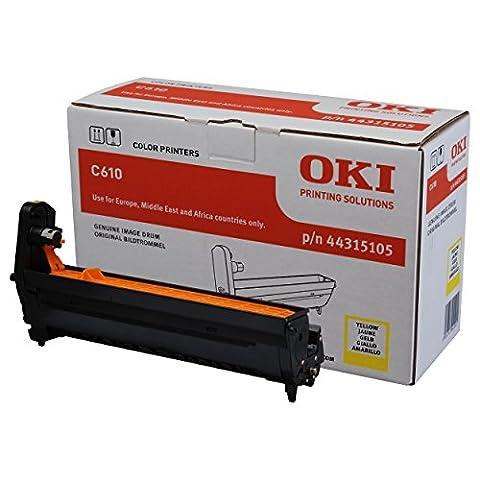 OKI 44315105 C610 Trommelkartusche 20.000 Seiten, gelb