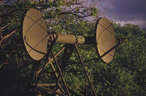 The Poster Corp Michael Wood/Stocktrek Images – Army Ground Radar Antennae. Photo Print (88,39 x 57,91 cm)