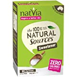 Natvia 100 % Natural Sweetener 80 Sticks (Pack of 1)