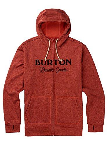 Burton Herren Oak Full-Zip Hoodie Tandori Heather