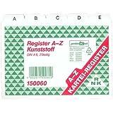 RNK-Vordruckverlag 150060  - A6-Z fichas de un plástico blanco