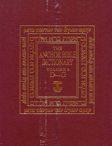 The Anchor Bible Dictionary (6 Volume Set)
