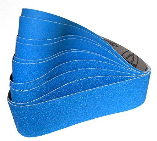 Preisvergleich Produktbild 10-teiliges Premium Klingspor Schleifband Set CS411X | 100 x 915 mm | Korn 36-120
