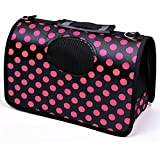 """Pets Empire Fabric Crate Airline Approved Pet Dog Travel Carrier Kennel (20.4"""" x 8.6"""" x 11.4"""")"""