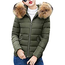 quality design 7ade3 58219 Amazon.it: piumini donna invernali - Verde