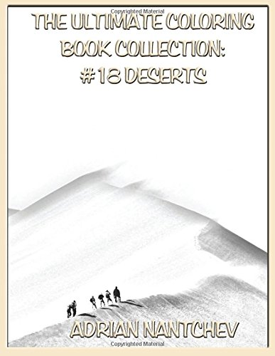 The Ultimate Coloring Book Collection #18 Deserts -
