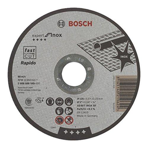 Bosch Cutting Disc 125 x 1 mm INOX Straight