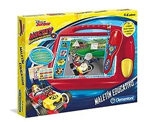 Clementoni- Mickey Maletín Educativo- años 37x28, (55223)