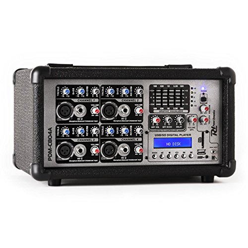 Power Dynamics PDA-C804A 4-Kanal Power-Mixer 800 - Dj-powermixer