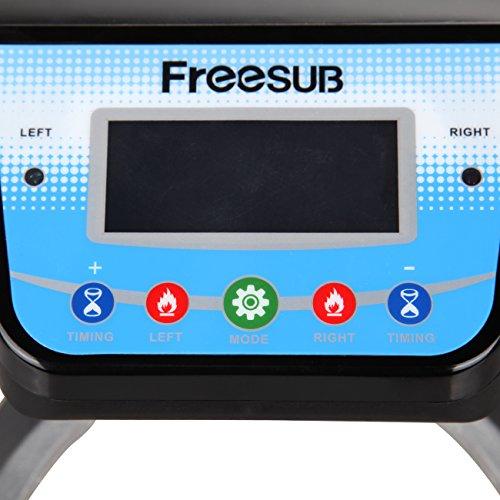 Ridgeyard Automatische Doppel Station Becher Transferpresse Maschine DIY Sublimation 2 Tassen in einem LCD Zeitsteuerung für Tasse Drucken - 7