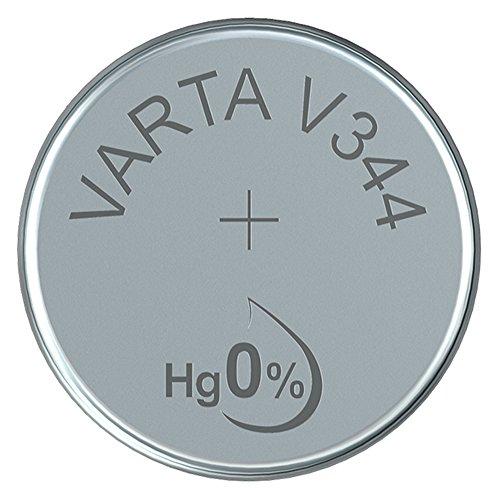 Varta bouton V344 cellule (100 mAh, 10-pack)