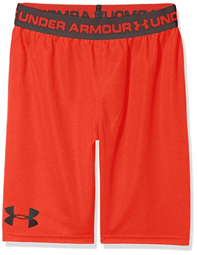 Under Armour Jungen Tech Prototype Shorts 2.0 Hose, Radio Red/Charcoal (890), XL