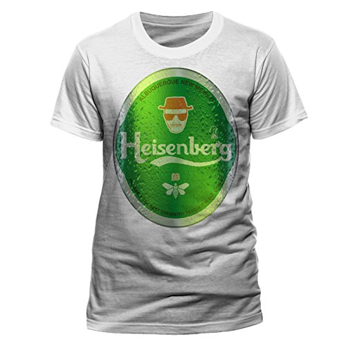 CID - BREAKING BAD - HEISENBERG Logo T-Shirt Weiß