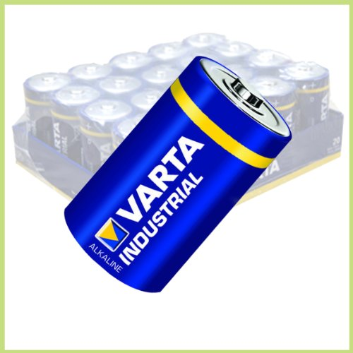 Sparangebot ! 40 Stück Varta Industrial Baby/ C/ LR14/ AM2/ 4014/Alkaline Batterie