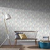 Superfresco Easy Papier peint Motif feuilles scandinaves Bleu