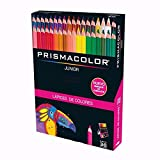 Prismacolor Colores Colored Pencil Set, Assorted, 36-Count (Packaging and Pencils are in Spanish)