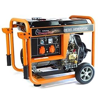 Groupe électrogène KW5500 1 phase 5000 Watt - Générateur d'urgence.