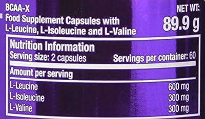 Scitec Nutrition BCAA X Essential Amino Acids Capsules - 120 Caps