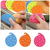 prochive Fruit Gemüsebürste Küche Werkzeug Multifunktions-einfache Reinigungsbürste für Kartoffel Küche Home Gadge