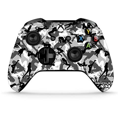 Xbox One S Wireless Controller Pro Konsole - Neueste Xbox Controller Blue-Tooth mit weichem Griff und exklusiver individueller Version Skin Mehrfarbig Camo Girls (Bluetooth-xbox-controller)
