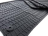 Tapis de sol en caoutchouc pour audi q5/sQ5/rSQ5 qualité d'origine en caoutchouc...