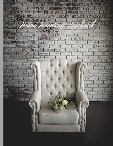 Armchair with Flowers Against a Brick Wall : Home Inventory Notebook