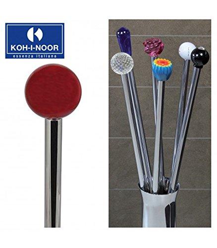 Koh-I-Noor 57180 Porta Scopino Frac Pomolo in Cristallo, 77 cm