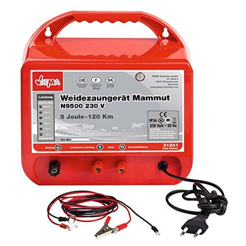 DEMA Weidezaungerät Mammut N9500 230V