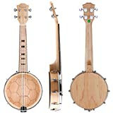 Kmise banjo ukulele 4 corde 58 cm  Konzert 23 Zoll MI1875