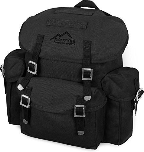 normani BW Rucksack, Mod, schwarz, mit Träger (wie BW Packtasche) Farbe Schwarz