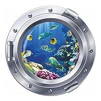 Wall Sticker - TOOGOO(R) 3D Window Finding Nemo Art Home Decor for Kids Room Wall Sticker Silver 11Pcs Fish